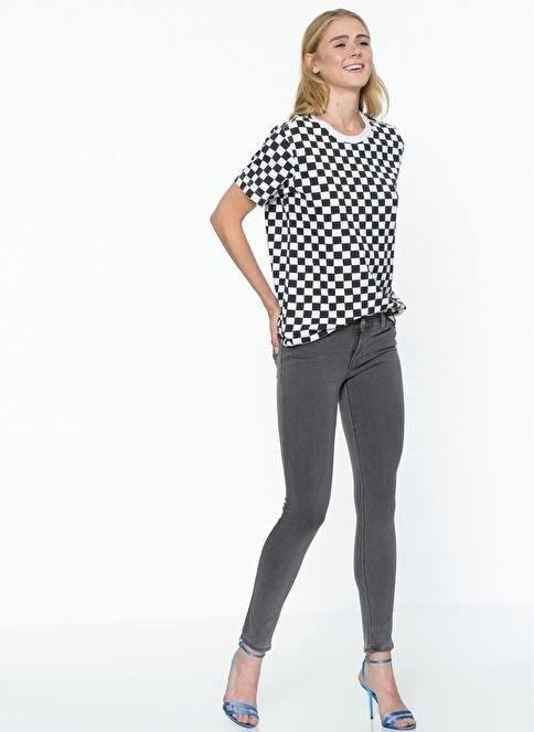 Levi's® Jean Pantolon | 711 - Skinny Gri